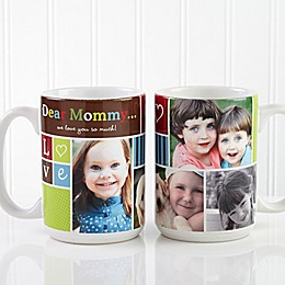 Photo Fun 15 oz. Coffee Mug in White