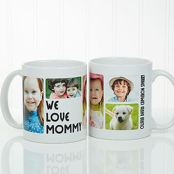 Alternate image 1 for 5 Photos Loving Message Coffee Mug