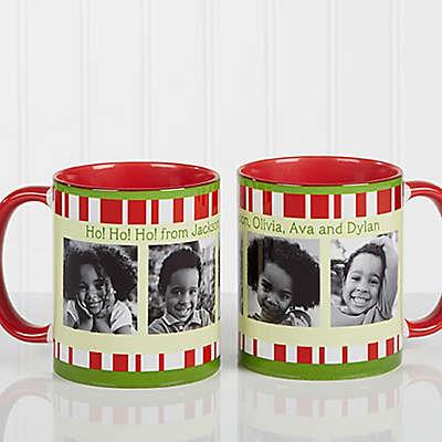 Christmas Photo Message 11 oz. Coffee Mug in Red