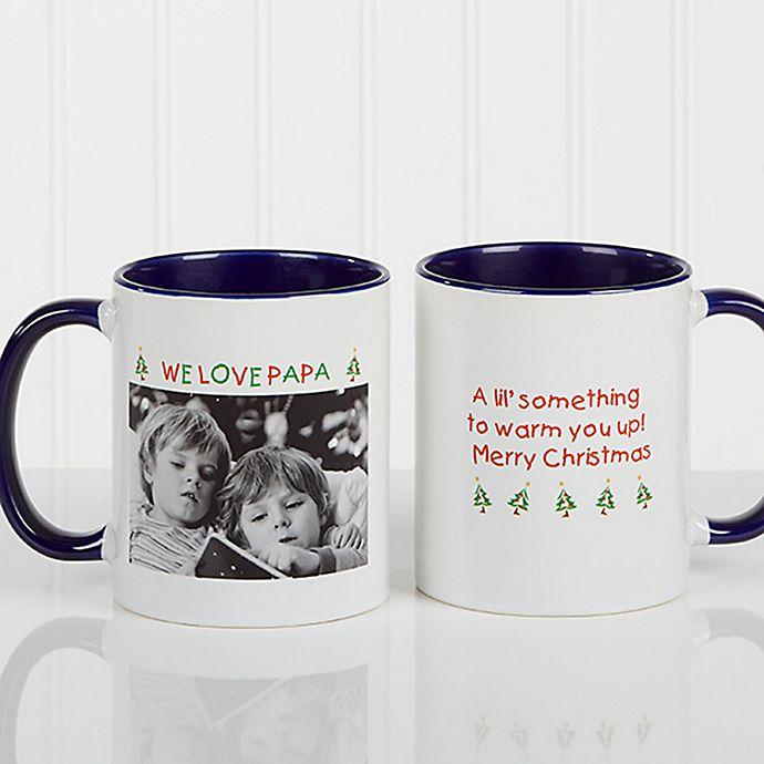 Alternate image 1 for Christmas Photo Wishes Coffee Mug