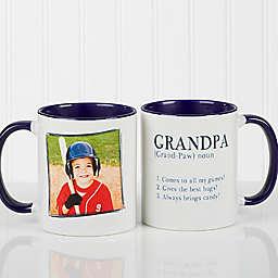 Definition of Dad/Grandpa 11 oz. Coffee Mug in Blue