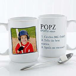 Definition of Dad/Grandpa 15 oz. Coffee Mug in White