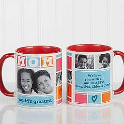 Mom Photo Collage Coffee Mug