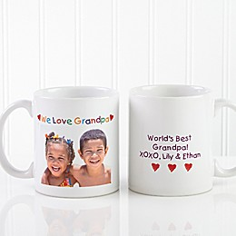 Photo Message 11 oz. Coffee Mug in White
