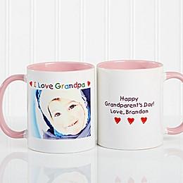 Photo Message 11 oz. Coffee Mug in Pink