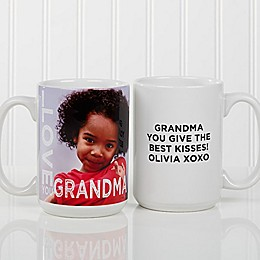 Loving Them 15 oz. Photo Coffee Mug in White