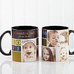 Photo Fun for Him 11 oz. Photo Coffee Mug in Black