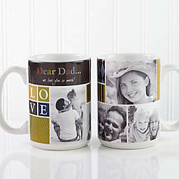 Photo Fun for Him 15 oz. Photo Coffee Mug in White