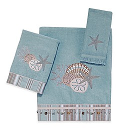 Avanti By The Sea Bath Towel Collection in Mineral