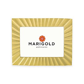 Marigold Artisans Fluted Picture Frame in Gold