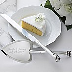 Wedding Cake 2-Piece Knife & Server Set