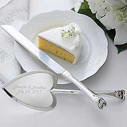 Wedding Cake 2-Piece Knife & Server Set