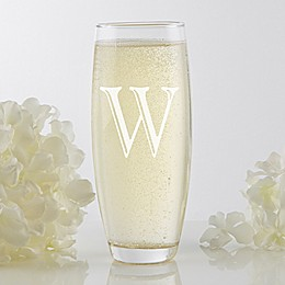 Initial Impressions Stemless Champagne Flute