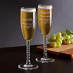 Write Your Own Champagne Flute
