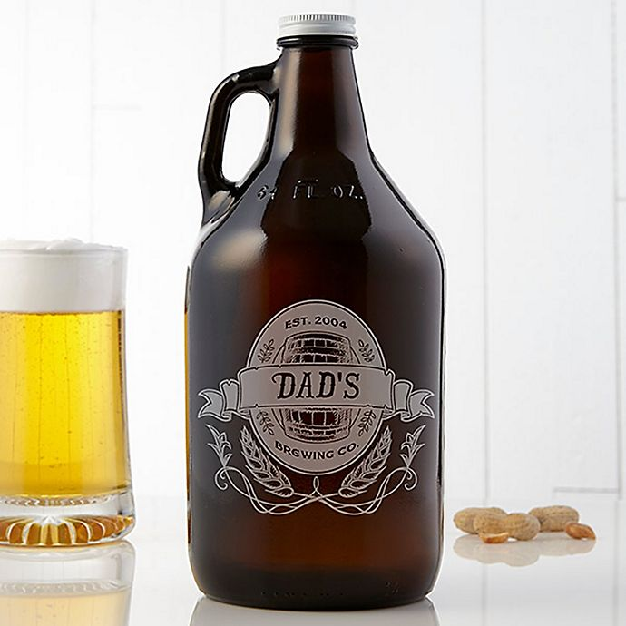 Alternate image 1 for Dad's Brewing Co. 64 oz. Beer Growler