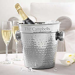 Hampton Collection Engraved Chiller/Ice Bucket