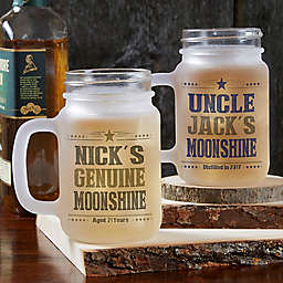 Write Your Own 12 oz. Frosted Mason Jar
