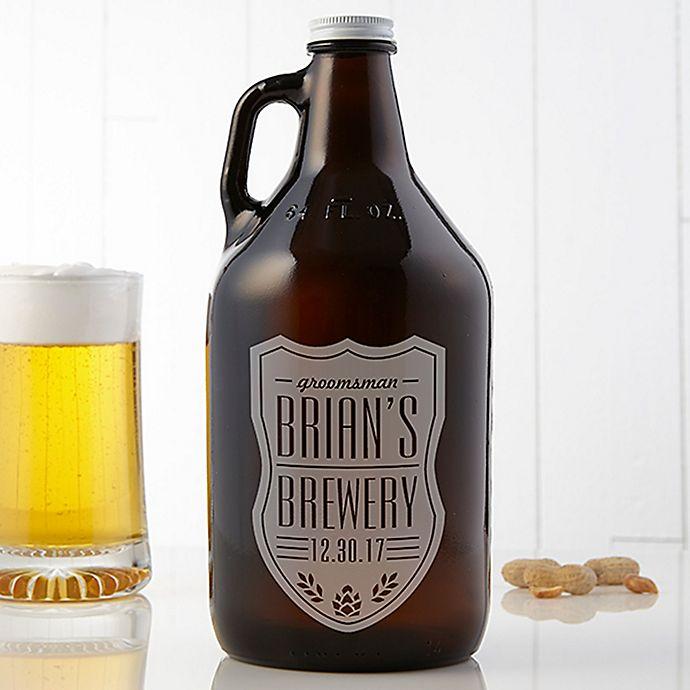 Alternate image 1 for Beer Label 64 oz. Growler