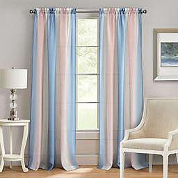 Achim Spectrum 63-Inch Rod Pocket Window Curtain Panel in Rose Quartz (Single)