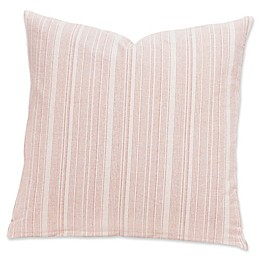 SIScovers® Modern Farmhouse Sunwashed Stripes 20-Inch Square Throw Pillow