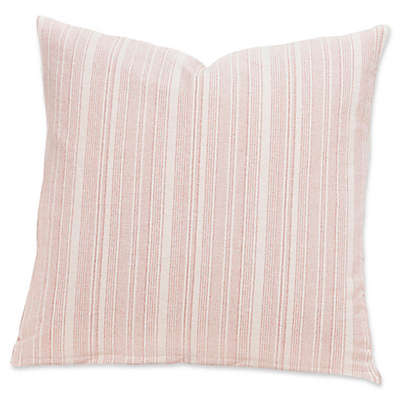 SIScovers® Modern Farmhouse Sunwashed Stripes 16-Inch Square Throw Pillow