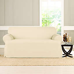 Sure Fit® Heavyweight T Loveseat Cover