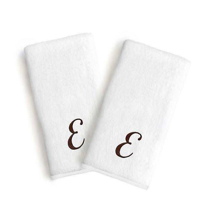 Alternate image 1 for Linum Home Textiles Monogrammed Letter \