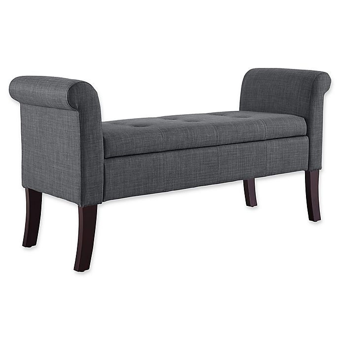 Alternate image 1 for Linon Home Indie Storage Bench