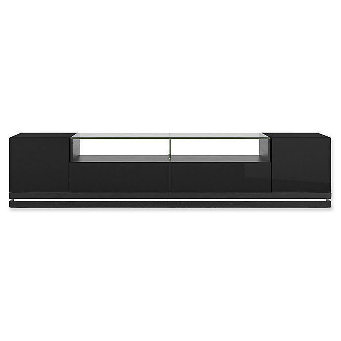 Alternate image 1 for Manhattan Comfort Vanderbilt TV Stand in Black