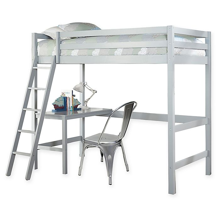 Alternate image 1 for Hillsdale Caspian Twin Study Loft Bed