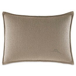 Tommy Bahama® Raffia Palms 12-Inch x 16-Inch Oblong Throw Pillow in Husk