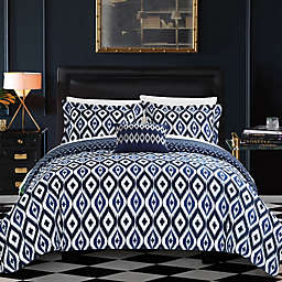 Chic Home Amare Reversible Duvet Cover Set