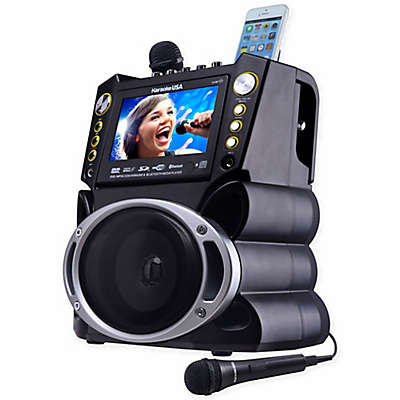 Karaoke USA DVD/CDG/MP3G Karaoke Machine with Screen/Bluetooth