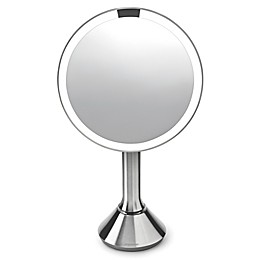 "simplehuman 8"" Sensor Mirror with Touch-Control Brightness"