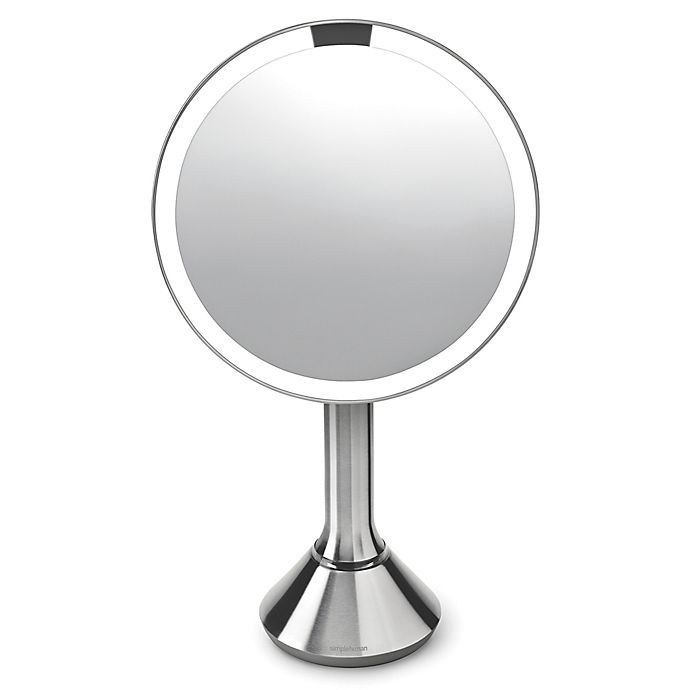 "Alternate image 1 for simplehuman 8"" Sensor Mirror with Touch-Control Brightness"