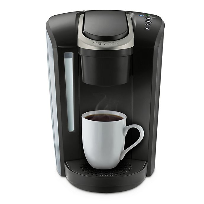 Alternate image 1 for Keurig® K-Select ™ Single-Serve K-Cup® Pod Coffee Maker in Matte Black