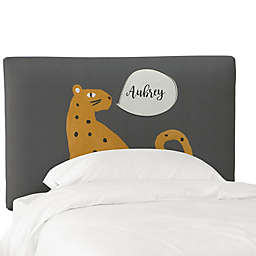 Skyline Furniture Personalized Cheetah Headboard