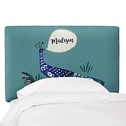 Skyline Furniture Personalized Peacock Headboard