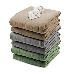 Biddeford® Comfort Knit Analog Heated Blanket