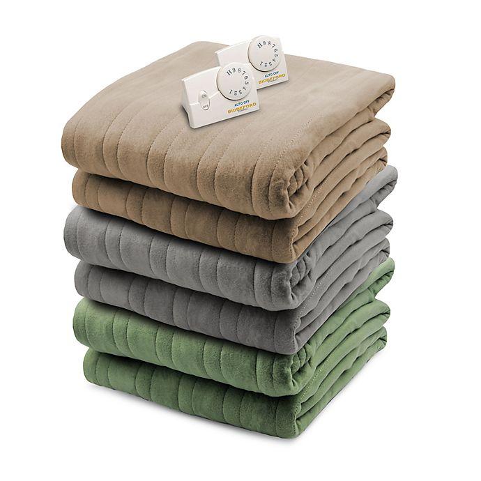 Biddeford Comfort Knit Analog Heated Blanket Bed Bath Beyond