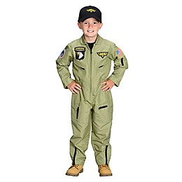 Jr. Armed Forces Pilot Suit with Helmet Child's Halloween Costume