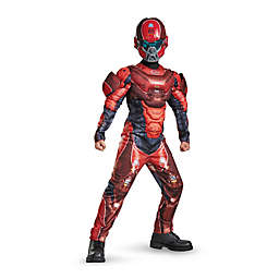 Halo Red Spartan Classic Muscle Child's Halloween Costume