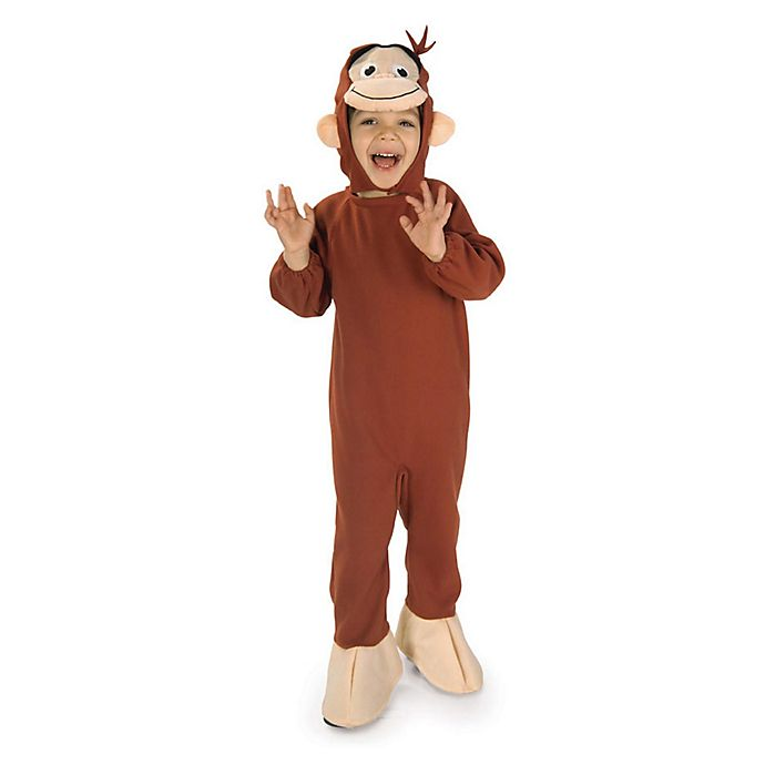 Alternate image 1 for Curious George Child's Halloween Costume