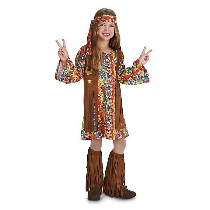 Alternate image 1 for Fringe 60's Hippie Child's Halloween Costume