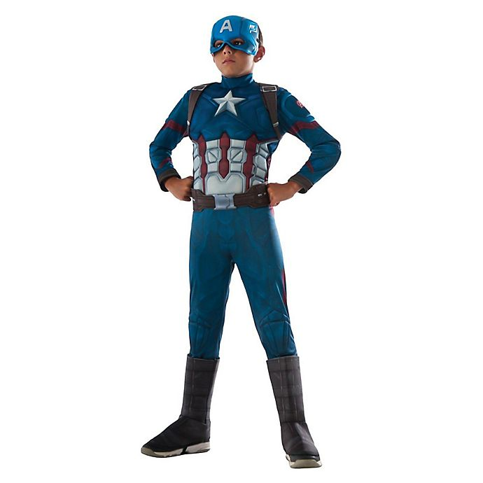 99bafa77 Captain America Deluxe Muscle Chest Child's Halloween Costume   Bed ...