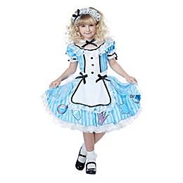 Deluxe Alice in Wonderland Child's Halloween Costume
