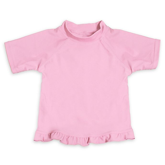 Alternate image 1 for My SwimBaby® Size Small UV Shirt in Light Pink