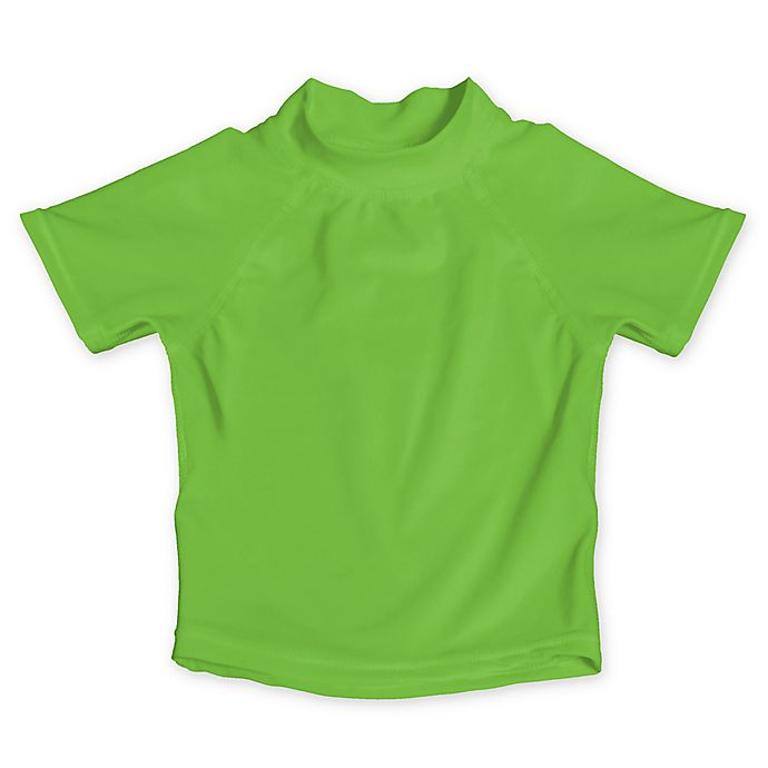 Alternate image 1 for My SwimBaby® Size Medium UV Shirt in Lime Green