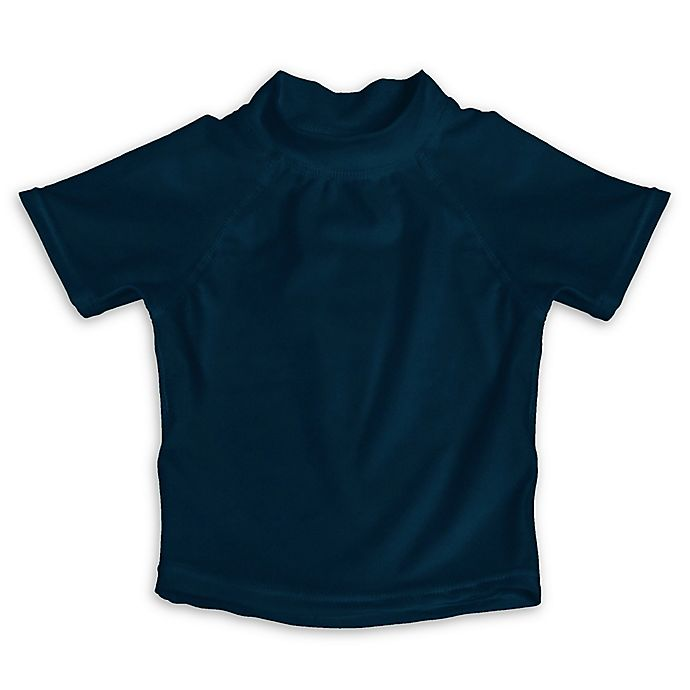 Alternate image 1 for My SwimBaby® Size Large UV Shirt in Navy