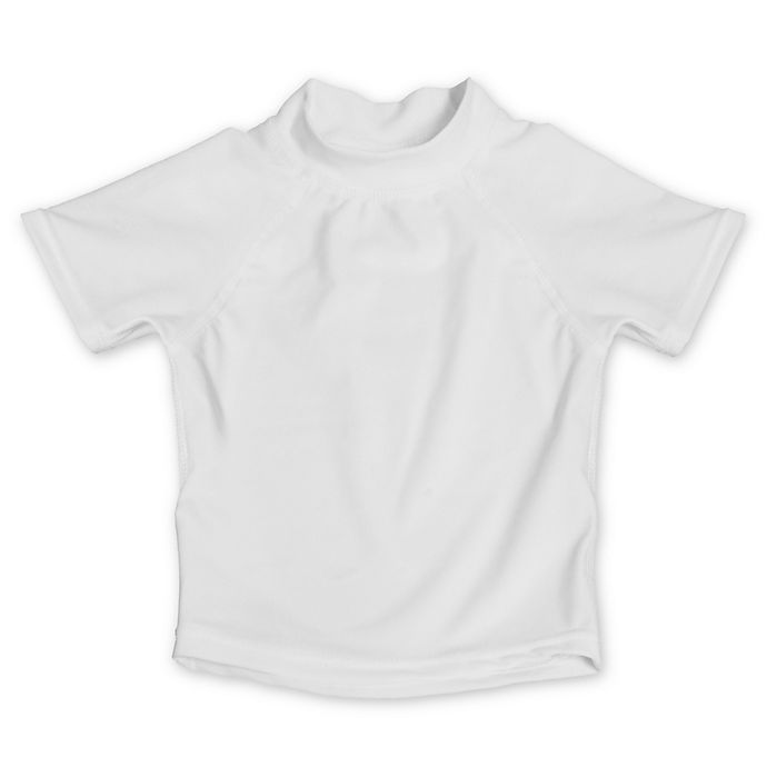 Alternate image 1 for My SwimBaby® Size Medium UV Shirt in White